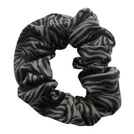 Scrunchie tijger khaki