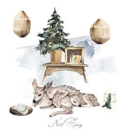 Noël  Cosy biches