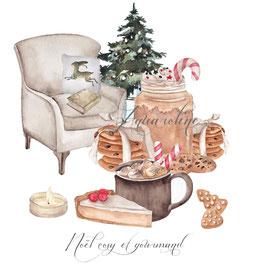 Noël Cosy et Gourmand