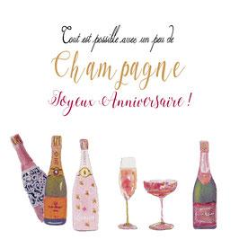 Joyeux anniversaire... Champagne!