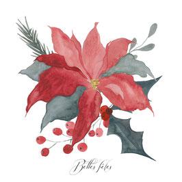 Poinsettia est la plante incontournable de Noël