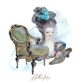 Belles fêtes, Marie-Antoinette