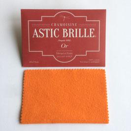 Pochette Astic Brille Or