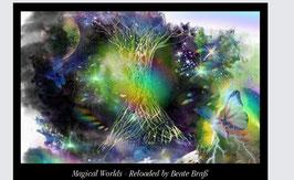 KUNSTKALENDER 2021- Magical Worlds Reloaded -  FORMAT DIN A2