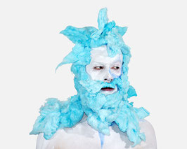 Francisco Uceda. Untitled with Blue Cotton Candy (de la serie i_Candy)