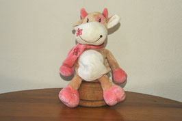 Vaca con bufanda m