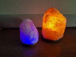Lámpara de piedra de sal del Himalaya PequeñaUSB