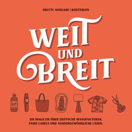 Weit & Breit - Magazin, Printausgabe 3