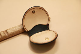 B-001 Coin Case (革色:Unbleached)
