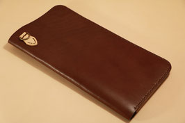 A-005 Travel Wallet (革色:Brown)