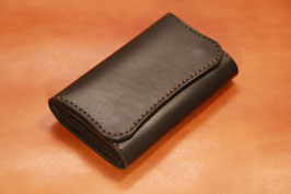 D-004 Minimum Wallet / Card Case(革色:Black)