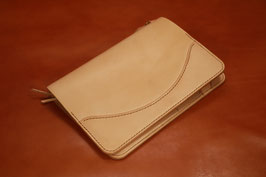 G-002B6 B6 Sized Notebook Cover(革色:Unbleached)