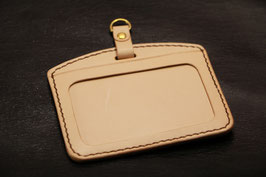 F-002 ID Case (革色:Unbleached)
