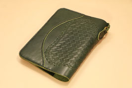 G-002A6S A6 Sized Notebook Cover(革色:Green)
