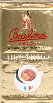Barbera Caffé Maghetto 250g gemahlen