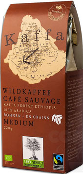 Kaffa Wildkaffe Medium 250 gr.