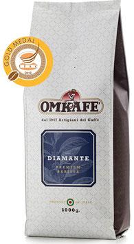 Omkafé Diamante 1 kg. in ganzen Bohnen
