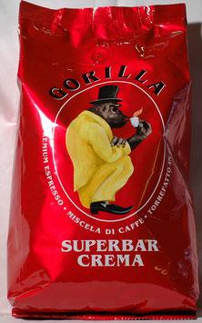 "Gorilla Kaffee ""Superbar Crema"" 1 kg."