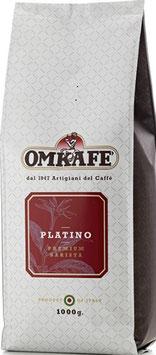 Omkafe Platino 1 kg. in ganzen Bohnen