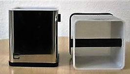 Concept Art - Ausklopfkasten Edelstahl mit Kunststoffeinsatz