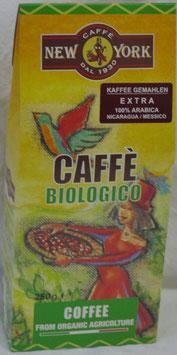 New York - Caffé Biologico und Fairtrade gemahlen 250g
