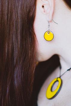Hang-oorbellen keramiek