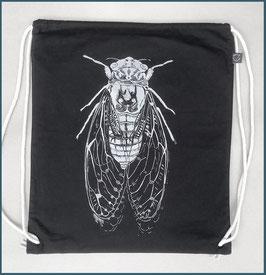 Rucksack schwarz Zikade