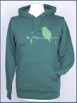 Kapuzenpulli Eisvogel, Grün