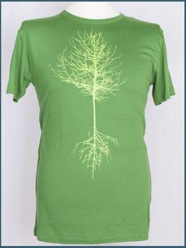Blattgrünes Herren Bambusshirt Baum