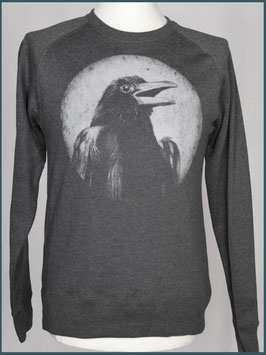 Recycle Dunkelgrau Unisex Pullover Rabe