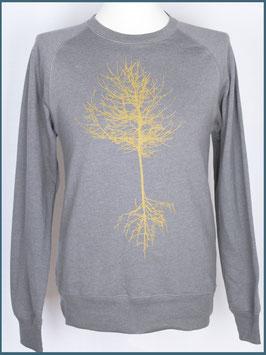Recycle Hellgrau Unisex Pullover Baum