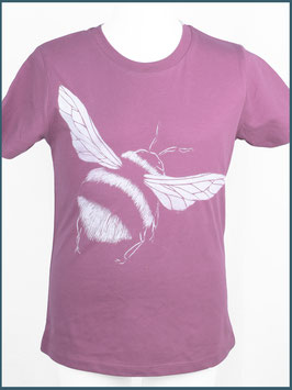 Kindershirt Biobaumwolle Mauve Hummel