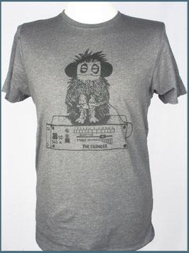 Graues Herren Recycle Shirt Silencer