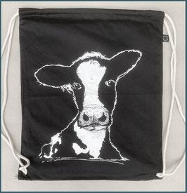 Rucksack schwarz Kuh