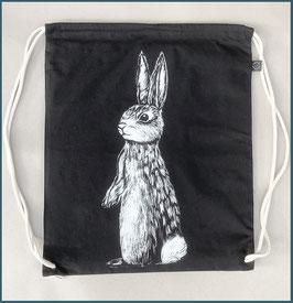 Rucksack schwarz Hase
