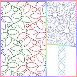 Musterlinien Set Nr. 1