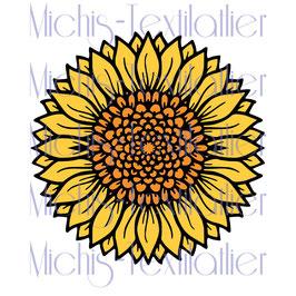 Plotter Sonnenblume