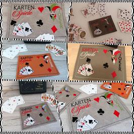 Spielkarten Spielmatte