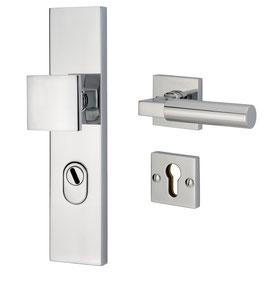 Bauhaus Sicherheits Langschildgarnitur KNO 245-05/44 ES1 zertifiziert nach DIN 18257