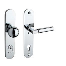 Bauhaus Sicherheits Langschildgarnitur KNO 250-02 SH FLC