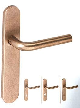JNF TIMES 28.04.NB8 Bronze-Langschildgarnitur RAW / ROH getrommelt