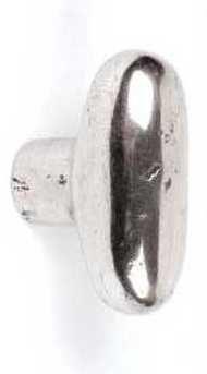 GIARA Bronze oder Britannium Möbelknopf C64-48