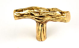 "GIARA Bronze Möbelknopf ""Ast"" PoRA-50"