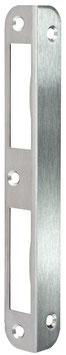 CES Winkel Schließbleche 0400 für VARIO Zimmertürschlösser in Messing in verschiedenen finishes