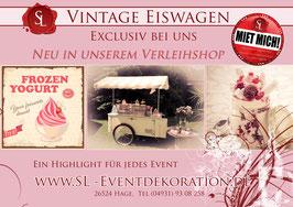 Eiswagen Vintage