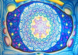 """UV Airbrush """"Mandala"""""""