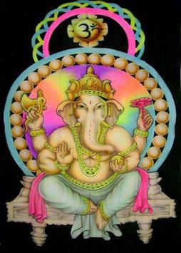 """UV Airbrush """"Ganesh"""""""