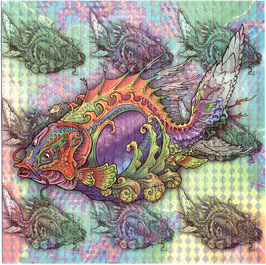 "Blotter Art ""Psyfish"""