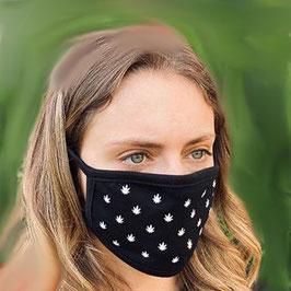 """Gesichtsschutzmaske """"Cannabis"""""""