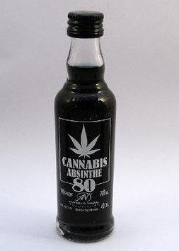 Cannabis Absinthe 80 Shot black